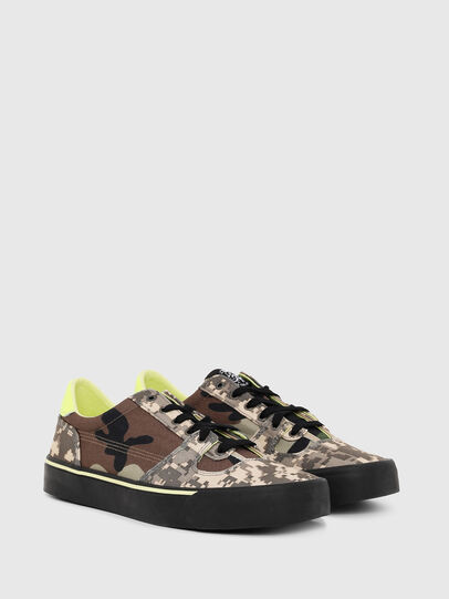 Diesel - S-FLIP LOW, Marron Military - Sneakers - Image 2