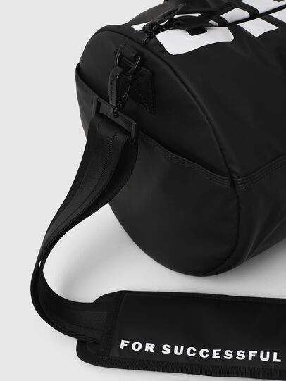 Diesel - F-BOLD DUFFLE, Black/White - Travel Bags - Image 4