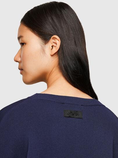 Diesel - M-AQUAMARINE, Blue - Knitwear - Image 4