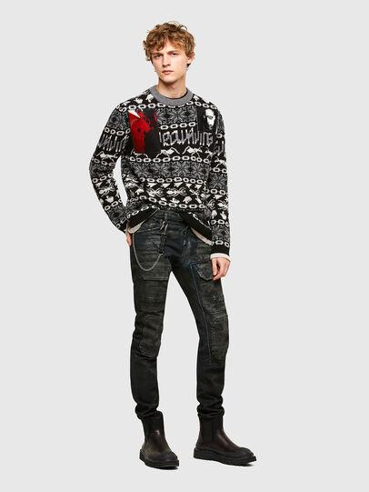Diesel - K-GERKO, Black - Knitwear - Image 5