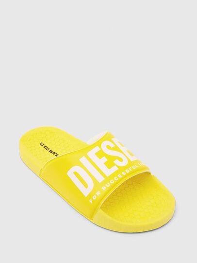 Diesel - FF 01 SLIPPER CH, Yellow - Footwear - Image 4