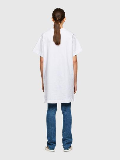 Diesel - D-BOWI-SMALLOGO, White - Dresses - Image 2