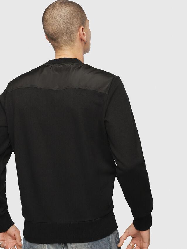 Diesel - S-CROMEXX, Black - T-Shirts - Image 2