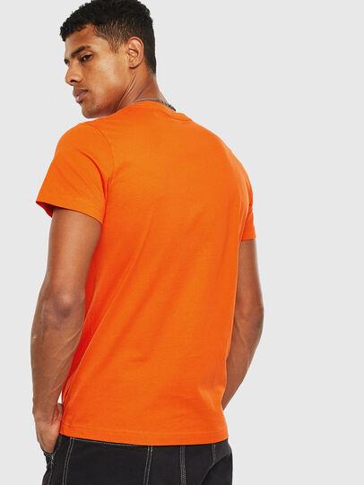 Diesel - T-DIEGO-DIV, Orange - T-Shirts - Image 2