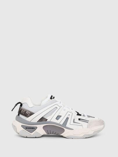 Diesel - S-KIPPER LOW TREK, White/Grey - Sneakers - Image 1