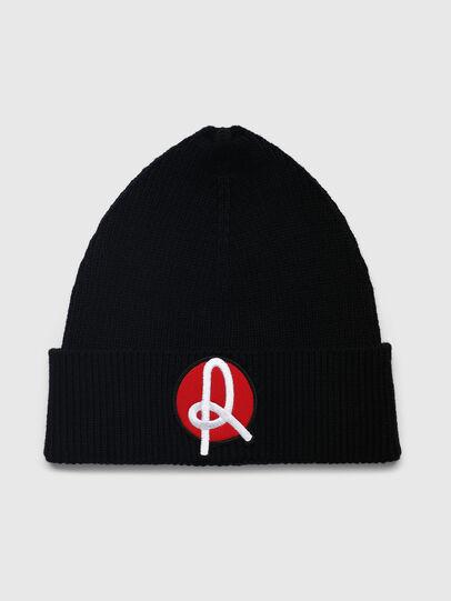 Diesel - LR-BEANY, Black - Knit caps - Image 1