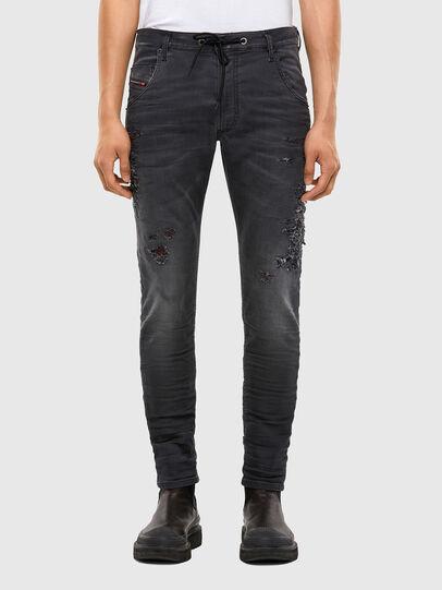 Diesel - KROOLEY JoggJeans® 069RA, Black/Dark grey - Jeans - Image 1