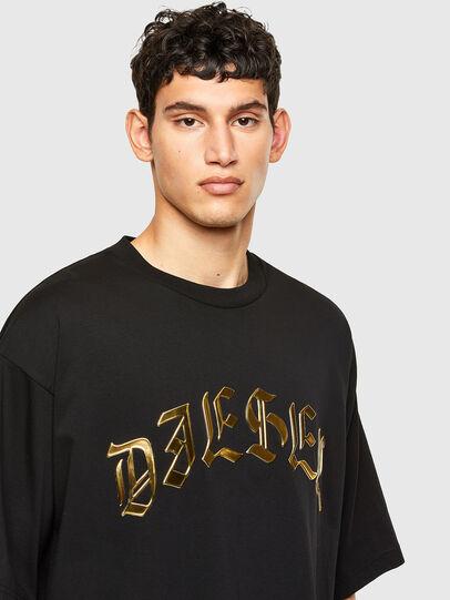Diesel - T-BALL-A1, Black - T-Shirts - Image 3