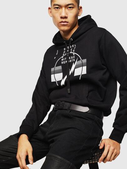 Diesel - S-GIRK-HOOD-J5, Black - Sweaters - Image 4