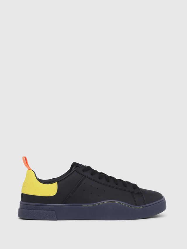 Diesel - S-CLEVER LOW, Black/Yellow - Sneakers - Image 1