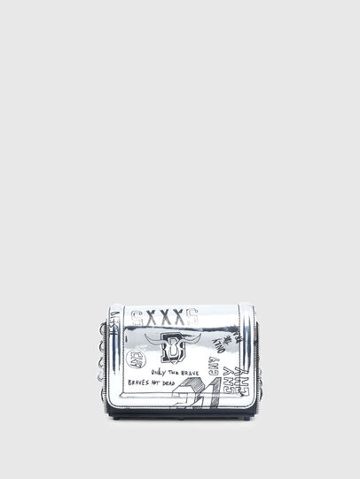 Diesel - CL - YBYS S CNY, Silver - Crossbody Bags - Image 1