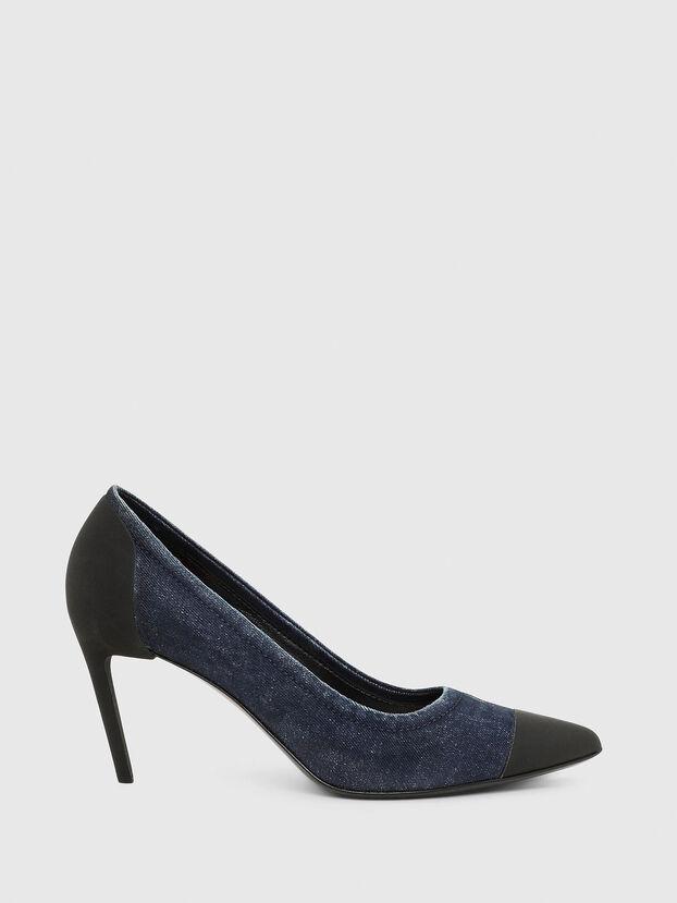 D-SLANTY MHT, Blue - Heels