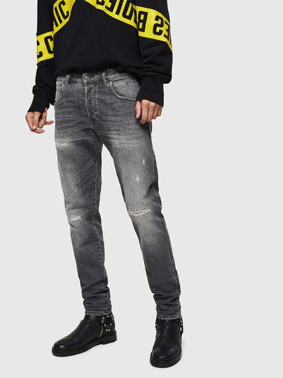 Diesel - D-Bazer 0890F, Light Grey - Jeans - Image 1