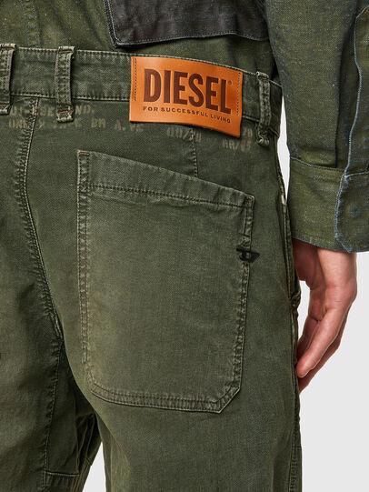 Diesel - D-Azerr JoggJeans® 069WH, Military Green - Jeans - Image 3