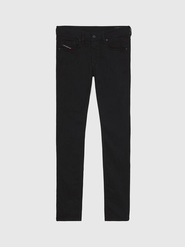 Sleenker A69EI, Black/Dark grey - Jeans