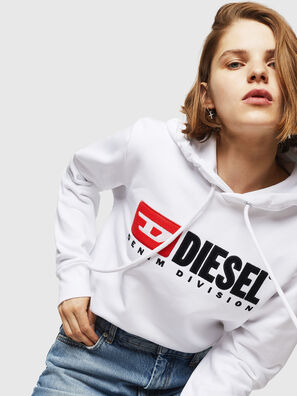 F-GIR-HOOD-DIVISION-, White - Sweaters