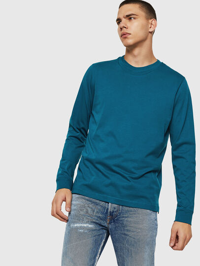 Diesel - T-LERMON, Blue Marine - T-Shirts - Image 1