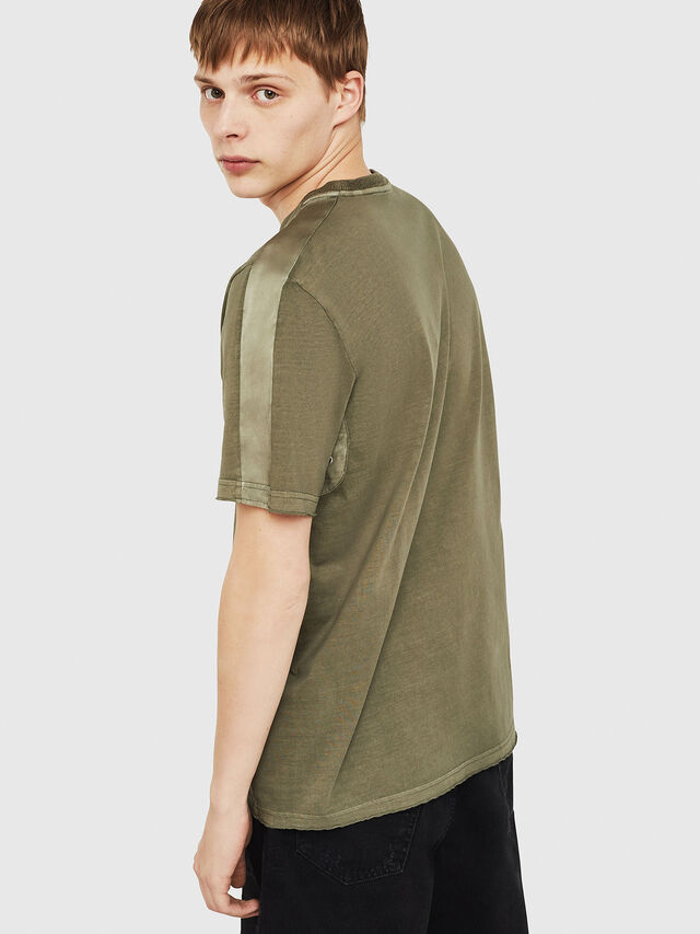 Diesel - T-MIX, Military Green - T-Shirts - Image 2