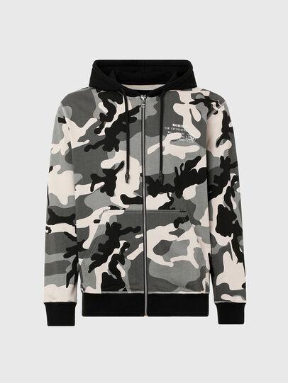 Diesel - UMLT-BRANDON-Z, Grey/Black - Sweaters - Image 1