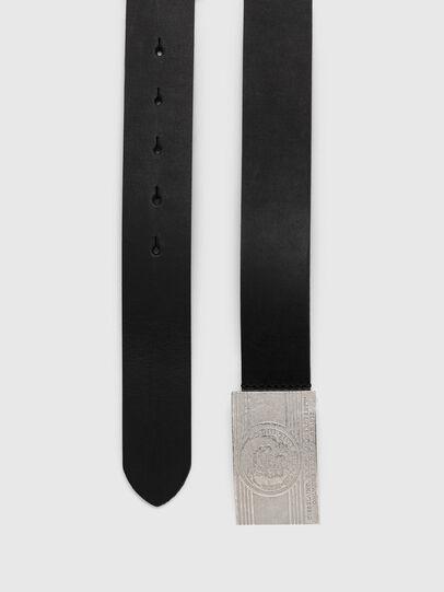 Diesel - B-STRA, Black - Belts - Image 3