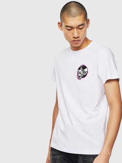 Diesel - T-DIEGO-J10, White - T-Shirts - Image 1