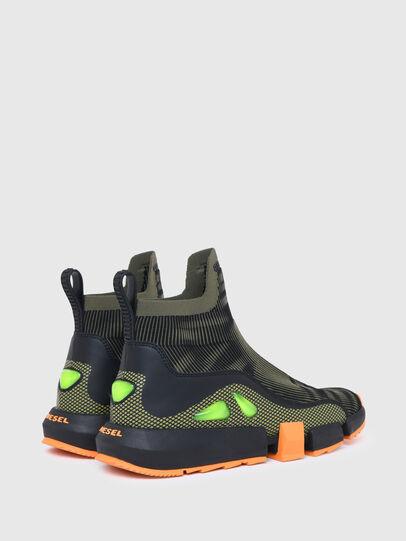 Diesel - H-PADOLA MID TREK, Military Green - Sneakers - Image 3