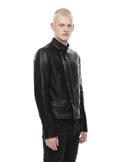 Diesel - LAZING,  - Leather jackets - Image 3
