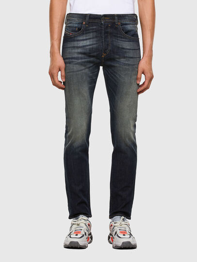 Diesel - Buster 009EP, Dark Blue - Jeans - Image 1