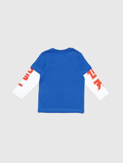 Diesel - TUCOB-R, Blue - T-shirts and Tops - Image 2