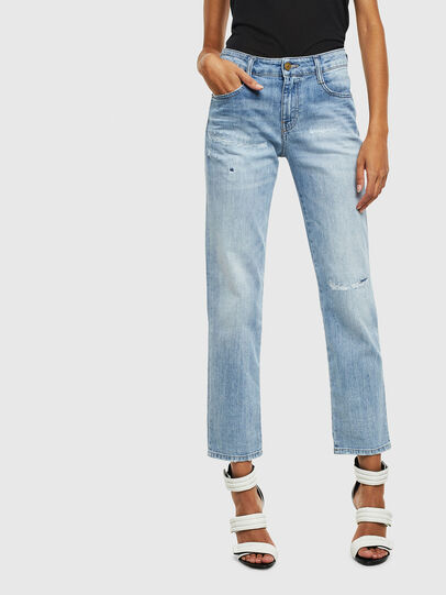 Diesel - D-Rifty 0095V, Light Blue - Jeans - Image 1