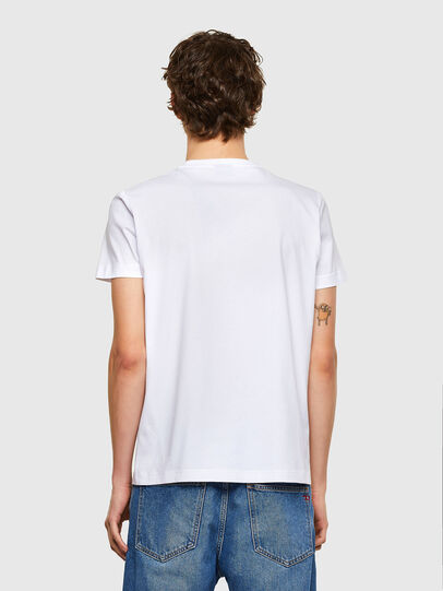 Diesel - T-DIEGOS-E35, White - T-Shirts - Image 2