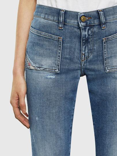 Diesel - D-Ebbey 0099M, Medium blue - Jeans - Image 3
