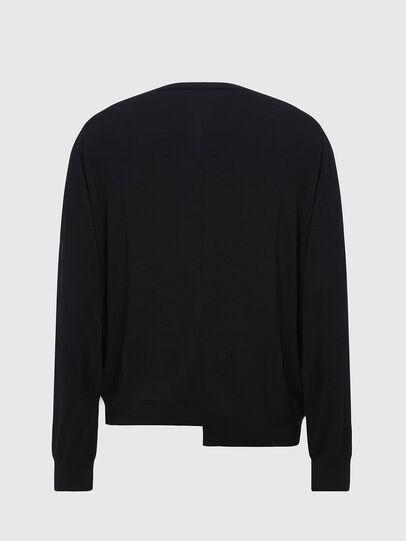 Diesel - K-HUGH, Black - Knitwear - Image 2