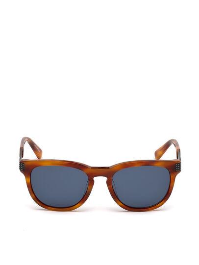 Diesel - DL0237, Light Brown - Sunglasses - Image 1