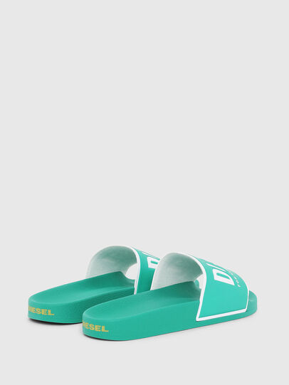 Diesel - SA-VALLA, Green - Slippers - Image 3