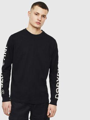 T-JUST-LS-T14, Black - T-Shirts