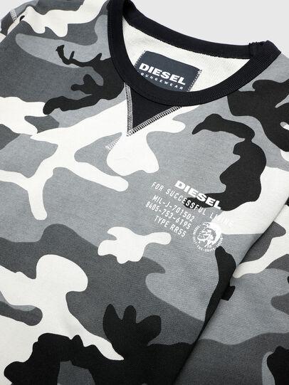 Diesel - UMLT-WILLY, Grey/Black - Sweaters - Image 3