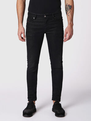 Sleenker 084SB, Black/Dark grey - Jeans
