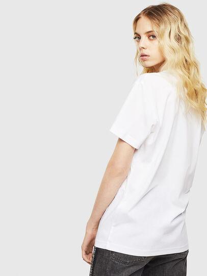 Diesel - T-DIEGO-J8, White - T-Shirts - Image 4