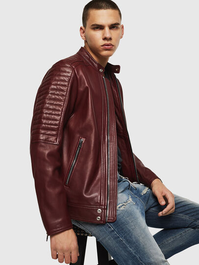 Diesel - L-SHIRO,  - Leather jackets - Image 4