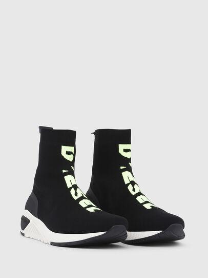 Diesel - S-KB MID ATHL SOCK, Black - Sneakers - Image 2