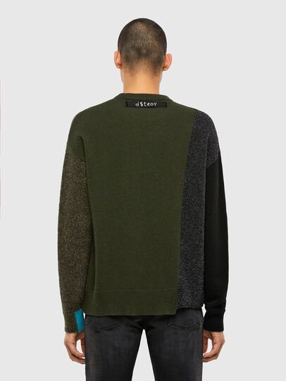 Diesel - K-MOSES, Olive Green - Knitwear - Image 2