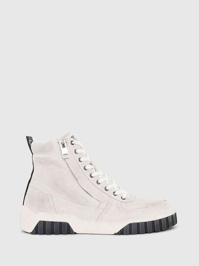 Diesel - S-RUA MID, White - Sneakers - Image 1