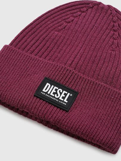 Diesel - K-CODER-E 2X2, Violet - Knit caps - Image 3