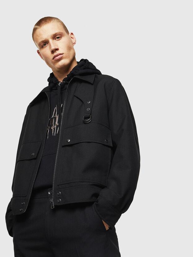 J-GABLE-A, Black - Jackets