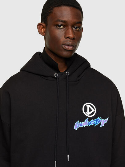 Diesel - S-UMMER-E4, Black - Sweaters - Image 3