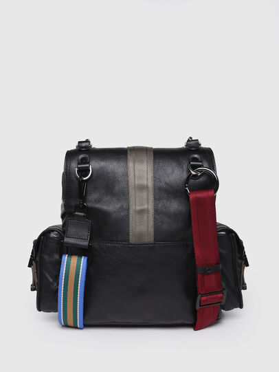 Diesel - MISS-MATCH BACKPACK, Anthracite - Backpacks - Image 2