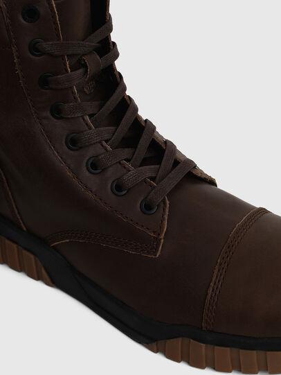 Diesel - H-RUA AM, Brown - Sneakers - Image 5