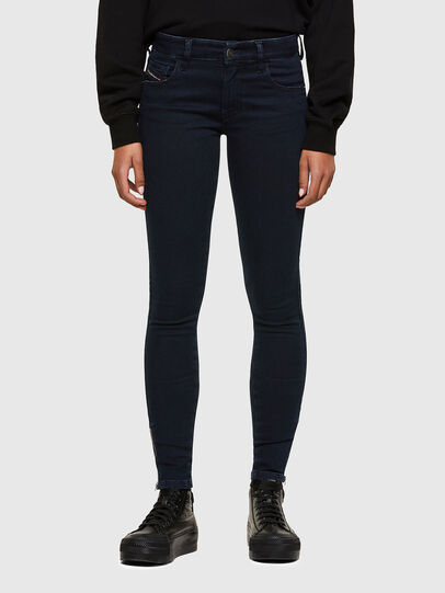 Diesel - Slandy Low 009PV, Dark Blue - Jeans - Image 1