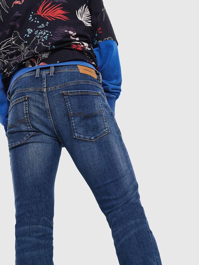 Diesel - Sleenker 069AJ, Medium blue - Jeans - Image 3